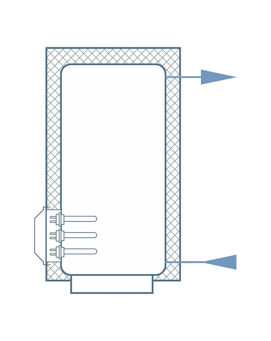 Схема обвязки водонагревателя с блок-ТЭНами