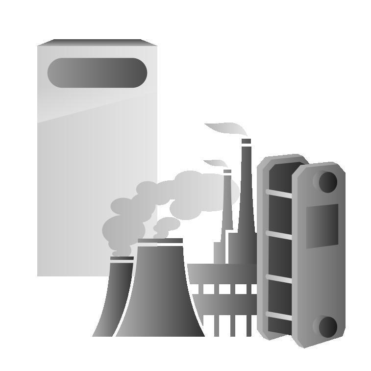 Электрокотел с централизованной системой теплоснабжения с закрытым контуром