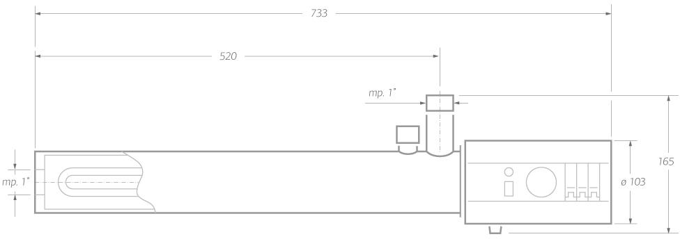 Электрический котел класс Эконом 10 кВт
