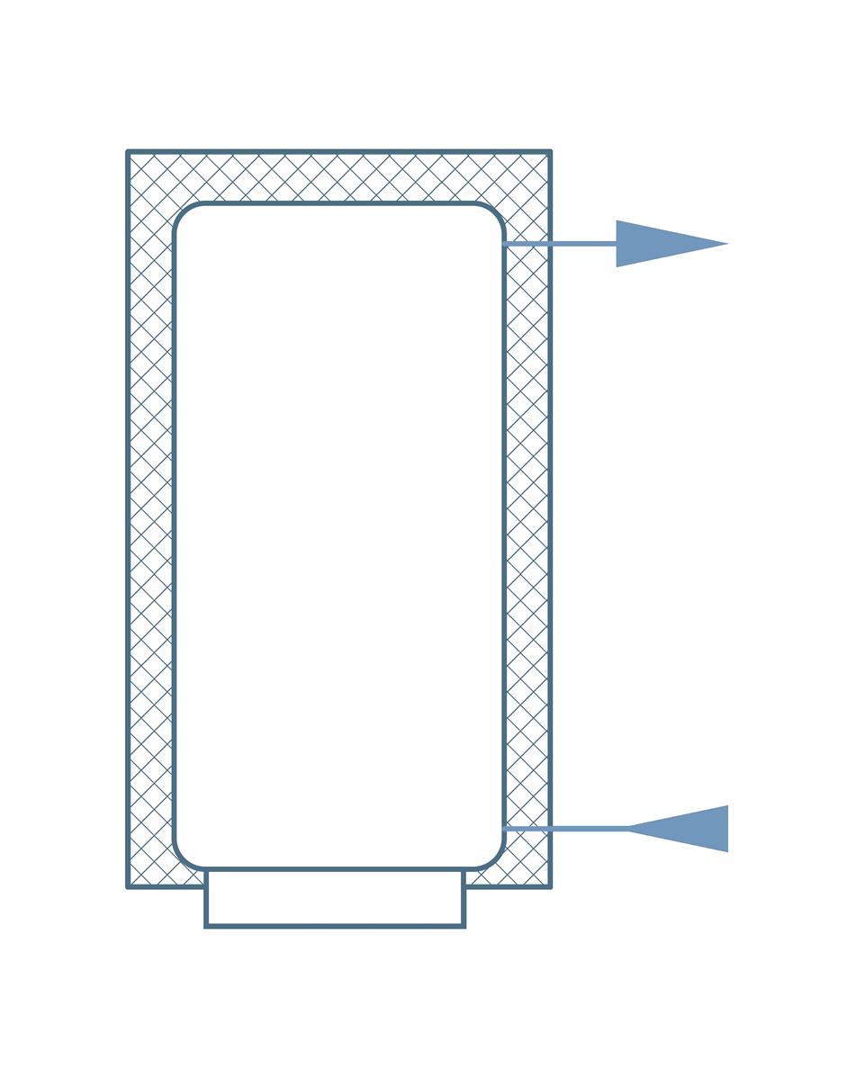 Схема обвязки аккумуляционной ёмкости