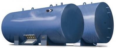Водонагреватель 10000 литров тип «Горизонтальный»